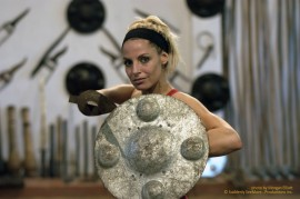 Trish Stratus learns the ancient martial art of Kalarippayat in Southern India on STRATUSPHERE.